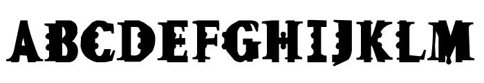 Fleck Font UPPERCASE