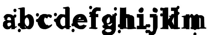 Fleck Font LOWERCASE