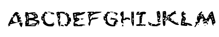 Flesh-Eating Comic Expanded Font UPPERCASE