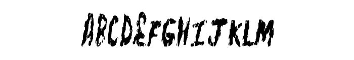 FleshShop Font UPPERCASE
