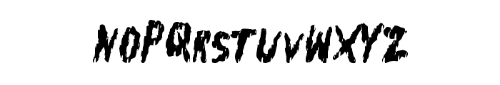 FleshShop Font LOWERCASE