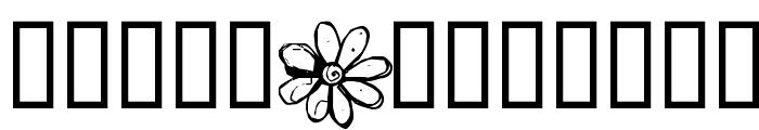 Fleur Aux Dents Font UPPERCASE