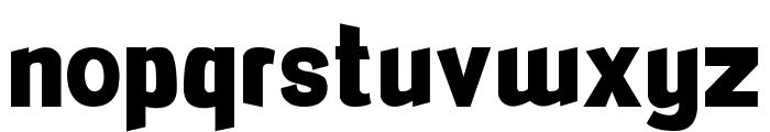 FlexiBendi Font LOWERCASE