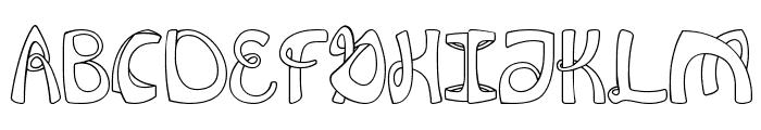 FlexionRegular Font UPPERCASE