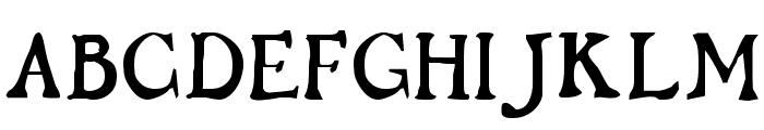 Flibustier Thin Font UPPERCASE