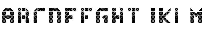 Flicker15 Font LOWERCASE