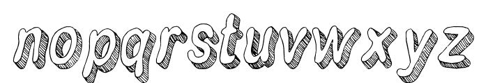 Flim-Flam Font LOWERCASE