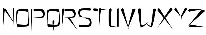 Flimsy Stave Font UPPERCASE