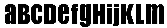 Flip Flop Font UPPERCASE
