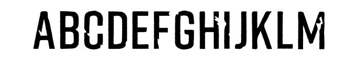 Fliped Font UPPERCASE