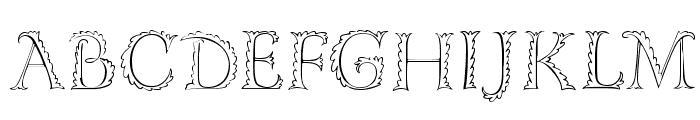 FloRaTialen Font UPPERCASE