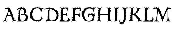 FloRaTialen Font LOWERCASE