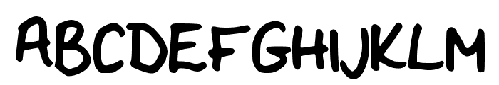 Flo__s_Handwriting Font UPPERCASE