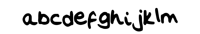 Flo__s_Handwriting Font LOWERCASE