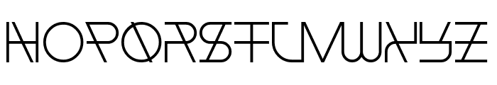 Float The Boat Font LOWERCASE