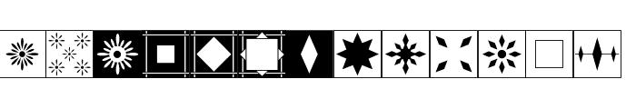 Floor Tile Patterns, Pt. 2 JL Font LOWERCASE