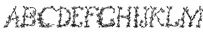 FloralTwo Font LOWERCASE