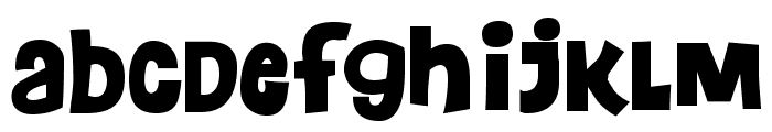 Floraless Font LOWERCASE