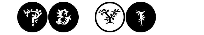 FloraliaCaps Font OTHER CHARS