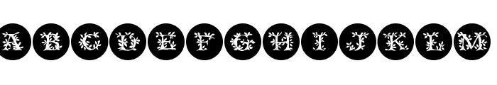 FloraliaCaps Font UPPERCASE