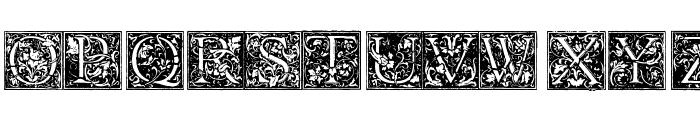 Florana_Initials Font UPPERCASE