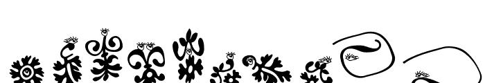 Floranimals Font OTHER CHARS