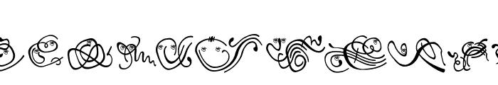 Floranimals Font LOWERCASE