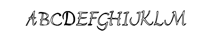 FlorenceHC Font UPPERCASE