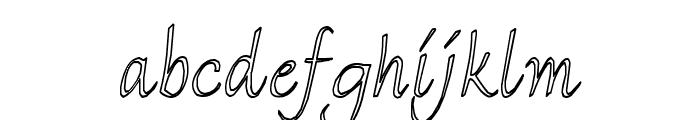 FlorenceHC Font LOWERCASE