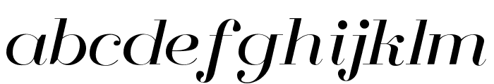 Florence Font LOWERCASE
