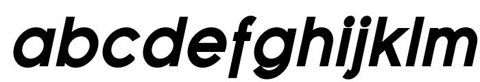 Florencesans Black Italic Font LOWERCASE