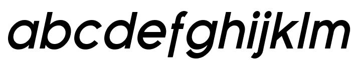 Florencesans Bold Italic Font LOWERCASE
