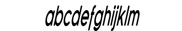 Florencesans Comp Bold Italic Font LOWERCASE