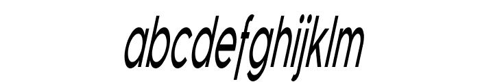 Florencesans Comp Italic Font LOWERCASE