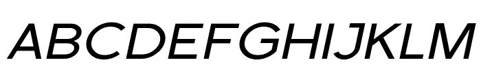 Florencesans Exp Italic Font UPPERCASE