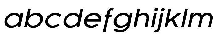 Florencesans Exp Italic Font LOWERCASE