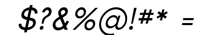Florencesans Italic Font OTHER CHARS