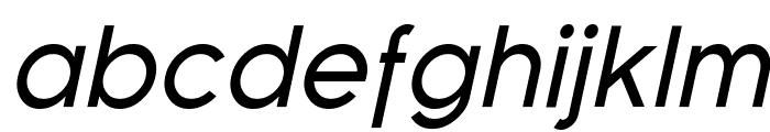 Florencesans Italic Font LOWERCASE