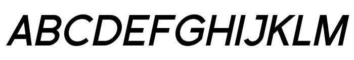 Florencesans SC Bold Italic Font LOWERCASE