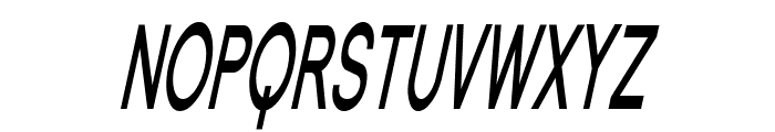 Florencesans SC Comp Bold Italic Font UPPERCASE