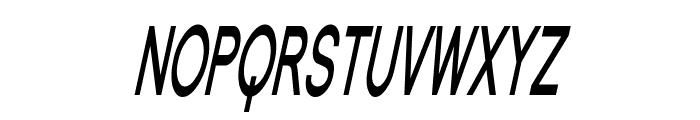 Florencesans SC Comp Bold Italic Font LOWERCASE