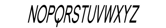 Florencesans SC Comp Italic Font UPPERCASE