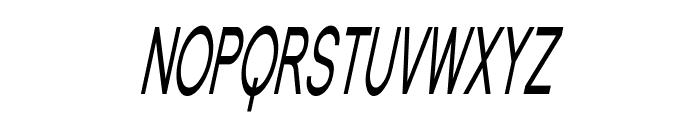 Florencesans SC Comp Italic Font LOWERCASE