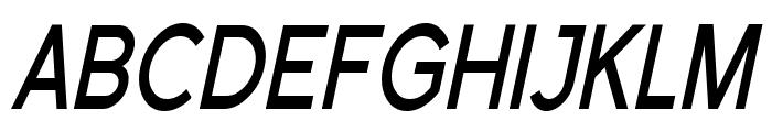 Florencesans SC Cond Bold Italic Font UPPERCASE