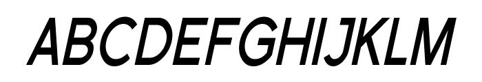 Florencesans SC Cond Bold Italic Font LOWERCASE