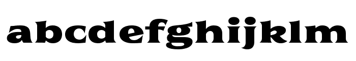 Florent-PosterTwo Font LOWERCASE