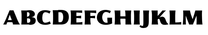 Florentia Fat Font UPPERCASE