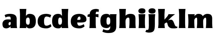 Florentia Fat Font LOWERCASE