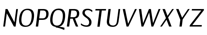Florid Italic Font UPPERCASE