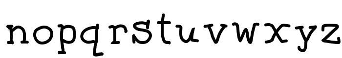 Florida Font LOWERCASE